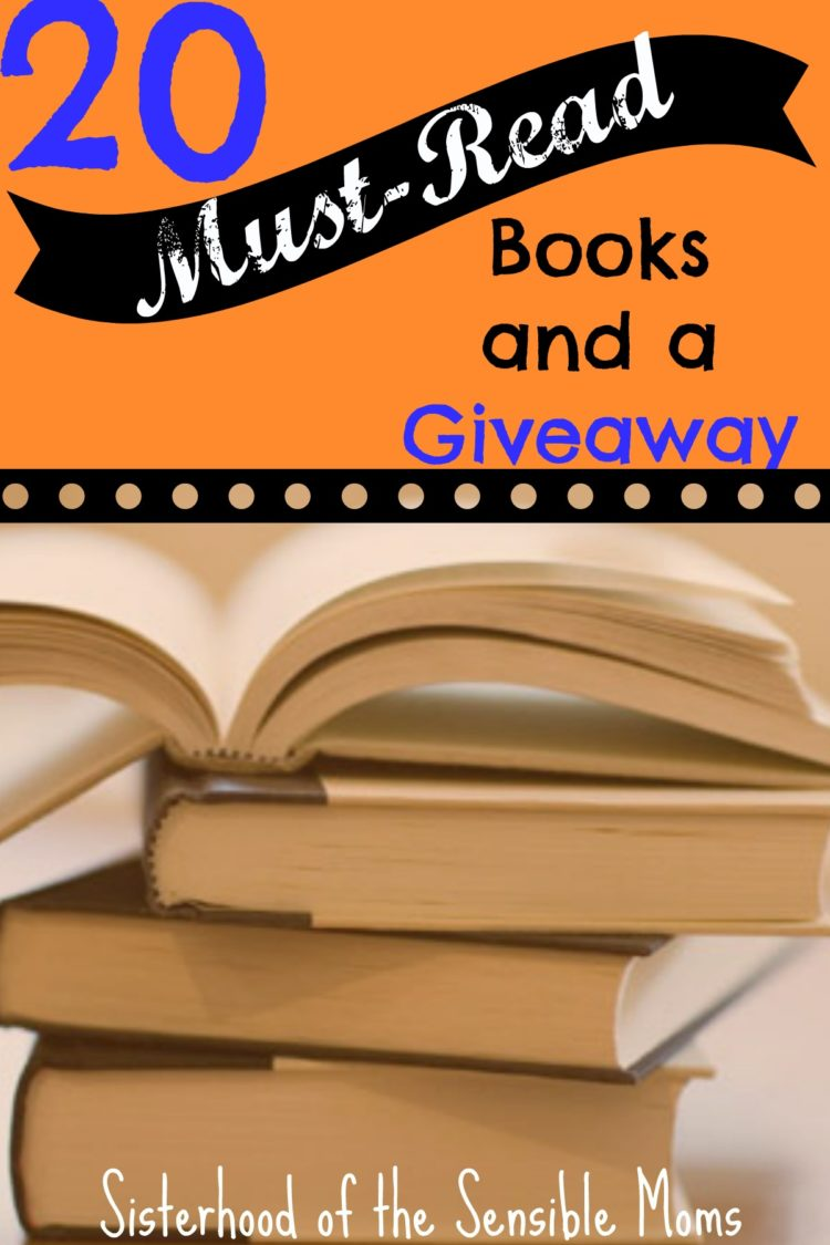 Looking for the perfect beach book or captivating read to get lost in this season? We've got the list of the top 20 books that belong on your summer reading list. They all come with the reason WHY you need to snatch them up, not to mention this INCREDIBLE giveaway--11 books, a $225 Amazon giftcard.   Sisterhood of the Sensible Moms