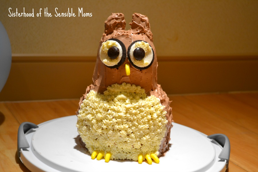 Owl Cake: The Unexpected Pitfall of Over-The-Top Kids' Birthday Parties | Sisterhood of the Sensible Moms