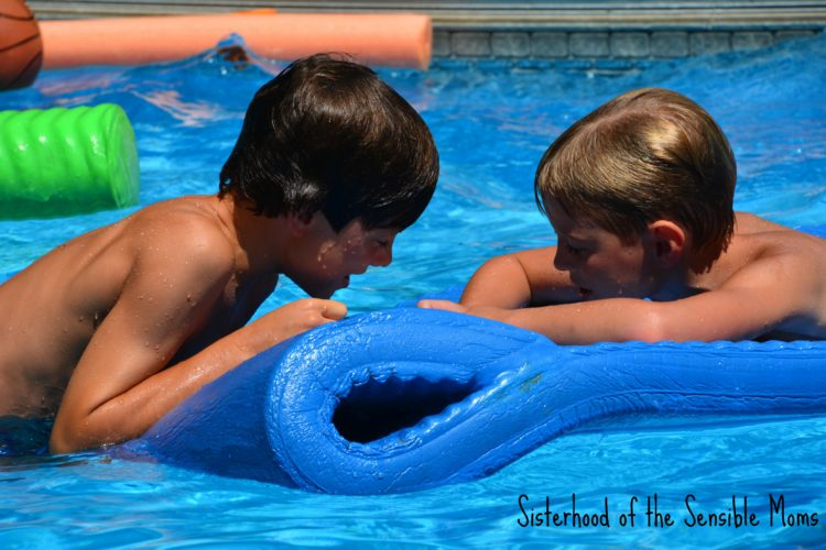 It's the most dangerous time of the year in a pool. Some tips to stay swim safe this summer! | Sisterhood of the Sensible Moms