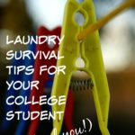Laundry Survival Tips for Your College Student (and You)