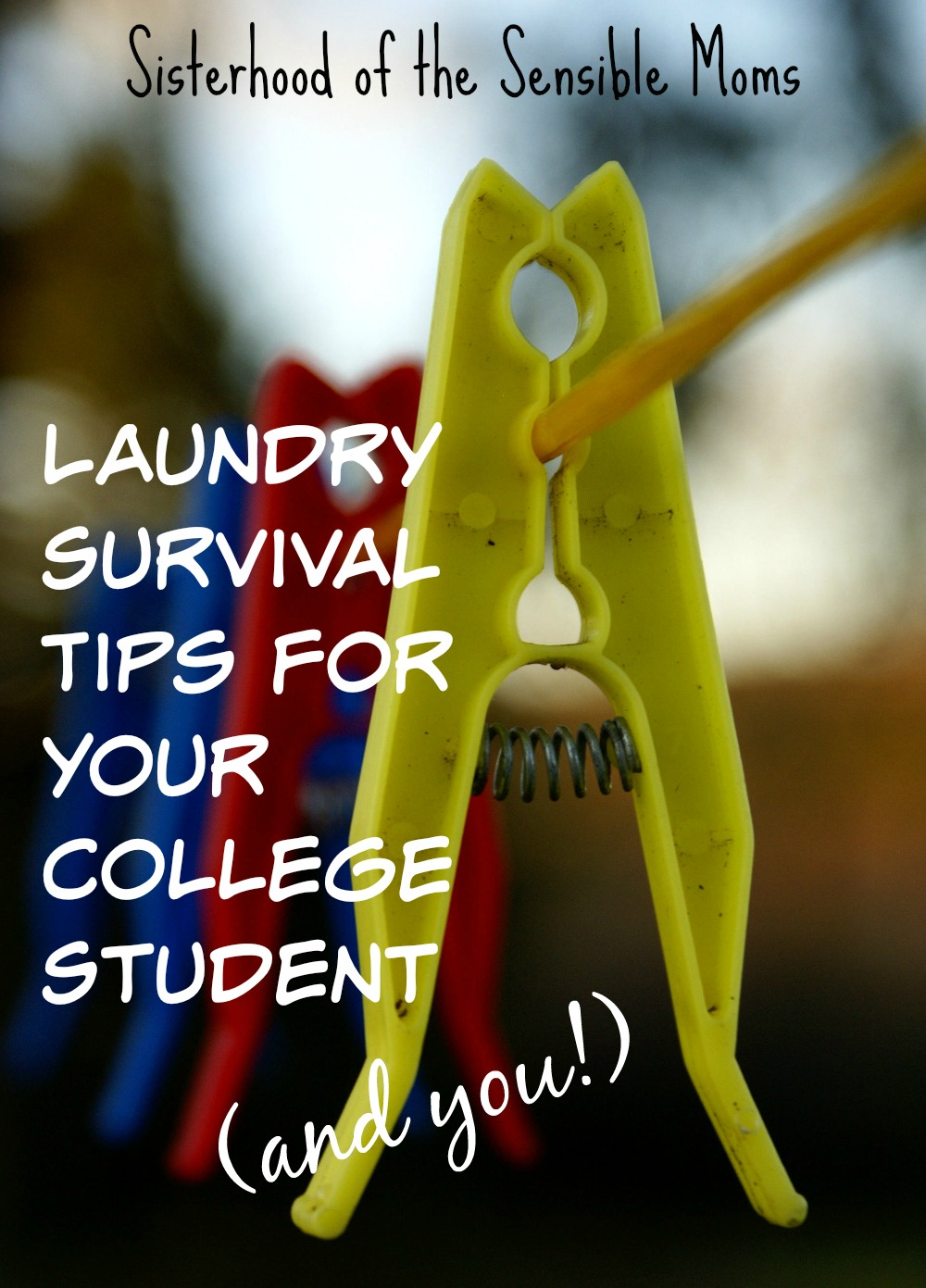Laundry Survival Tips For Your College Student and You! It's never too late (or too early) to teach your child life skills! Comprehensive laundry survival tips, advice and how-to for your college student and you! The bed-making and wrinkle busting tips are amazing! | Parenting Advice | Sisterhood of the Sensible Moms