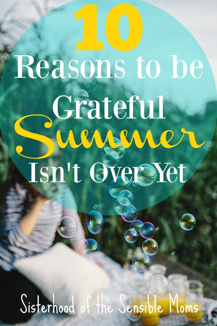 Great summer recipes, great books to read, vacations to be had, great outdoor adventures, and family travel too! There is still plenty of summer fun to have! | Sisterhood of the Sensible Moms