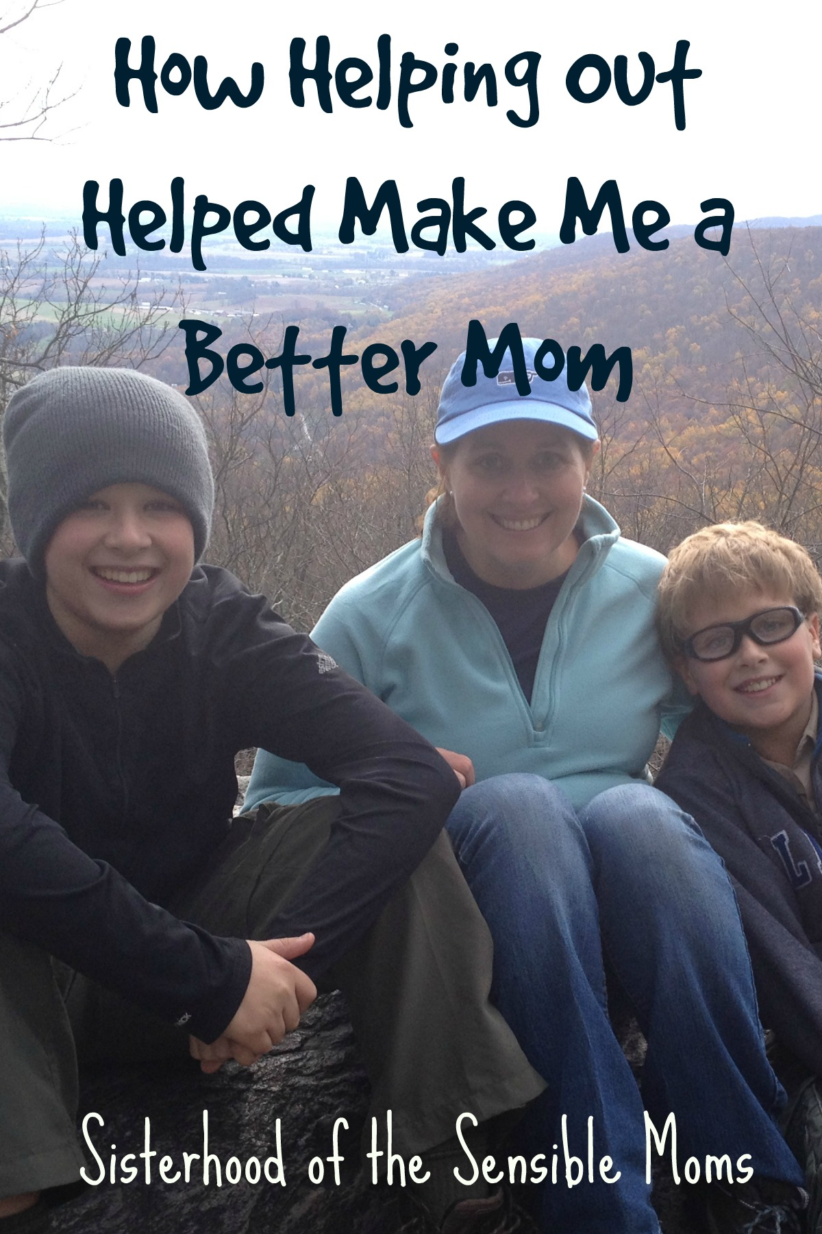 Parenting can be hard. Helping out helped make me a better mom. How volunteering for the PTA or Scouts can help you too! | Sisterhood of the Sensible Moms