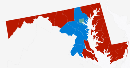 Maryland Electoral Map