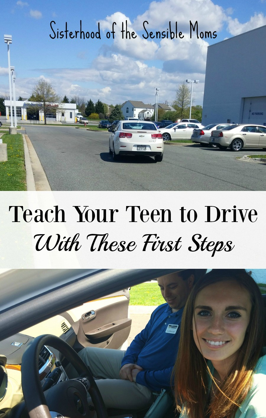 Teach your teen to drive with these first steps. Tips and tutorials because the basics may be even more basic than you recall. Learn also about the role of muscle memory. |Parenting | Sisterhood of the Sensible Moms