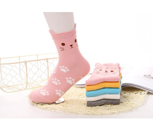 Cute Socks | Sisterhood of the Sensible Moms Teen Girl Gift Guide