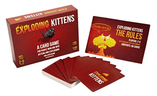 Exploding Kittens | Sisterhood of the Sensible Moms Teen Girl Gift Guide