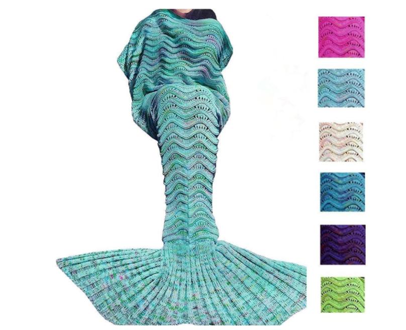 Mermaid Tail Blanket | Sisterhood of the Sensible Moms Teen Girl Gift Guide